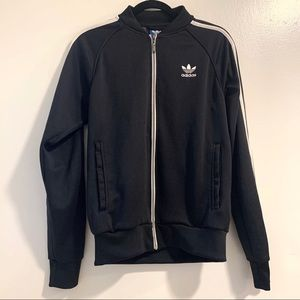 Adidas Black Zip-up jacket